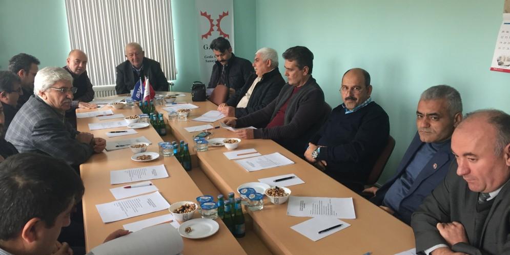 2016 Yılının Son Müteşebbis Heyet Toplantısı 26 Aralık 2016 tarihinde gerçekleştirildi…