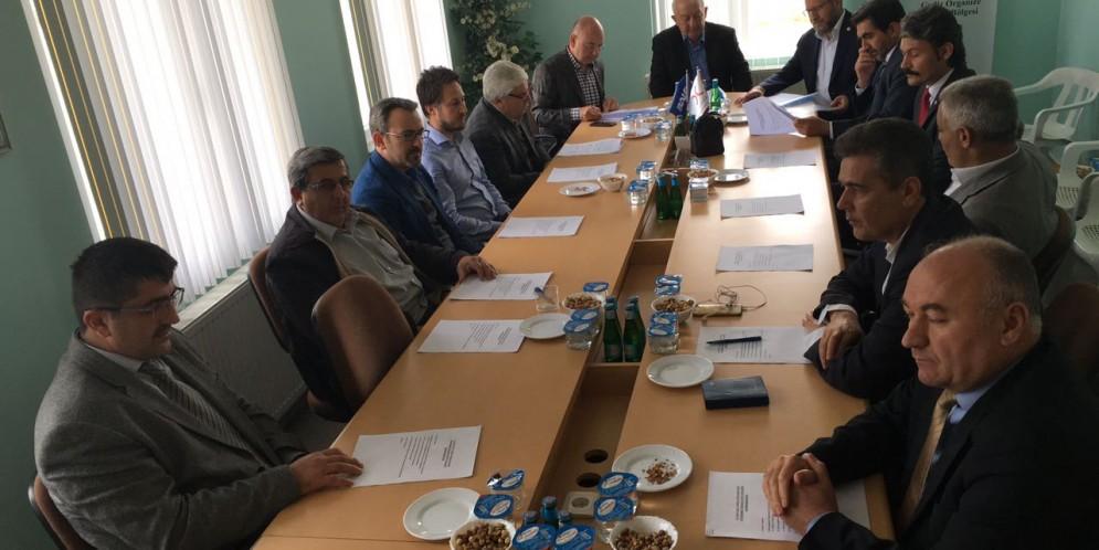 Gediz OSB Müteşebbis Heyeti 2017 yılı 1. Dönem Toplantısını gerçekleştirdi.