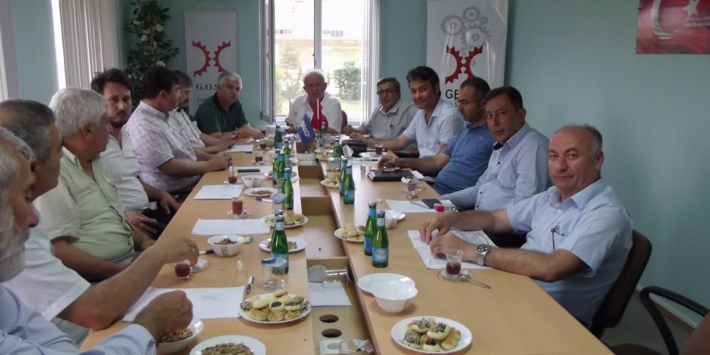 Gediz OSB Müteşebbis Heyeti 2018 yılı 2. Dönem Toplantısını gerçekleştirdi.