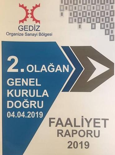 Gediz OSB'mizin 2. Olağan Genel Kurul Toplantısı gerçekleştirildi.